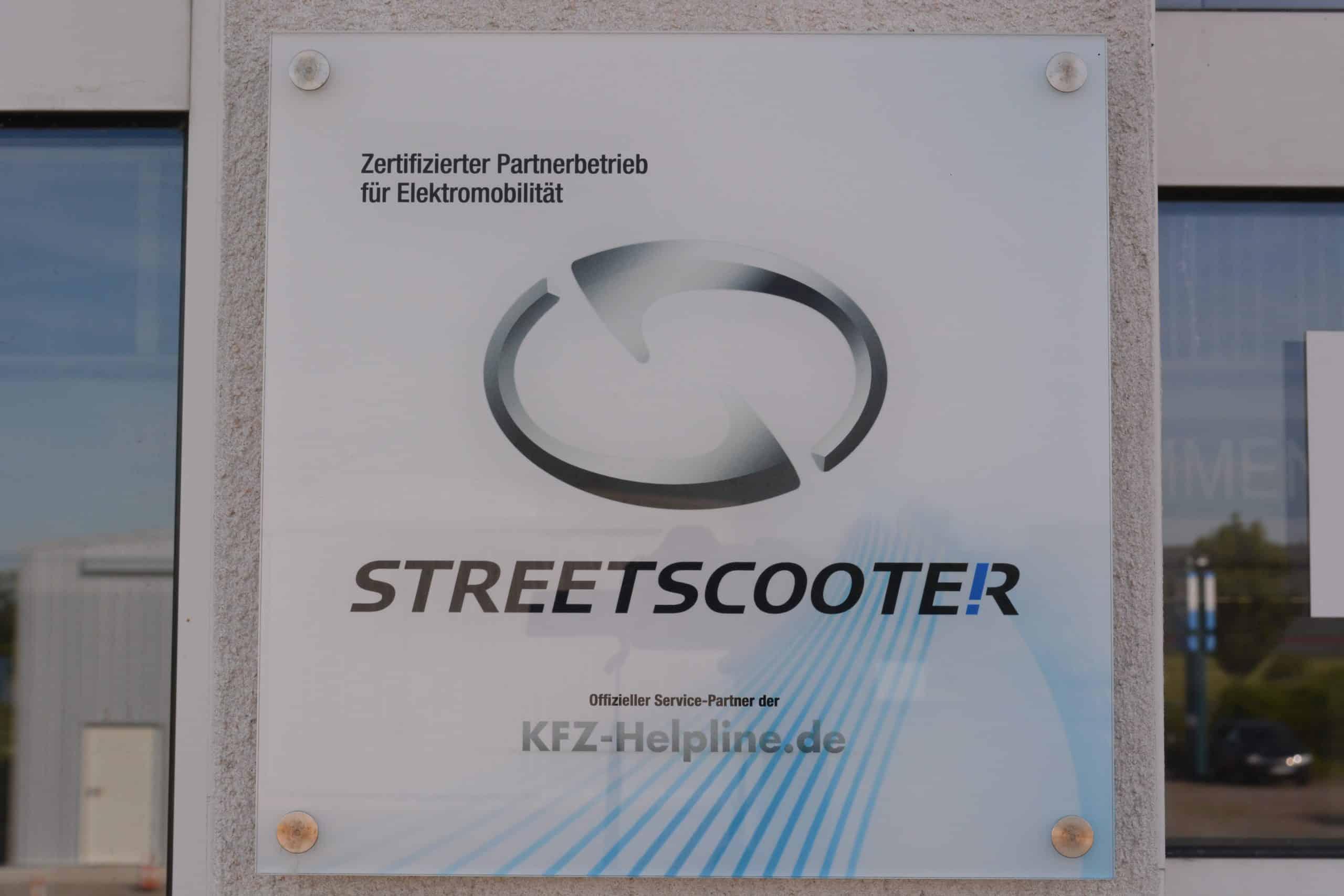 STREETSCOOTER SERVICEPARTNER